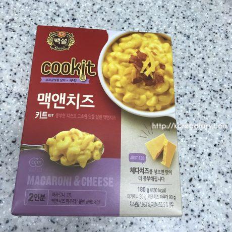 ぺクソルの簡単マカロニ&チーズの素でマックンチーズ♪