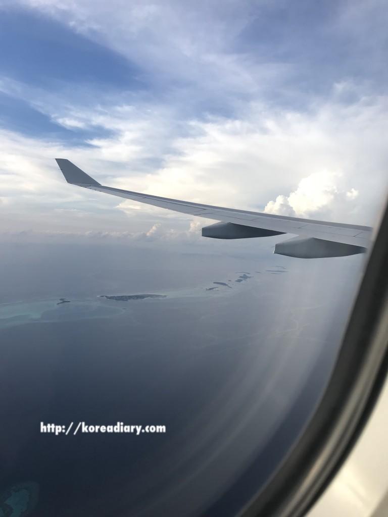 仁川空港→コロンボ空港→マレ空港(モルディブ)