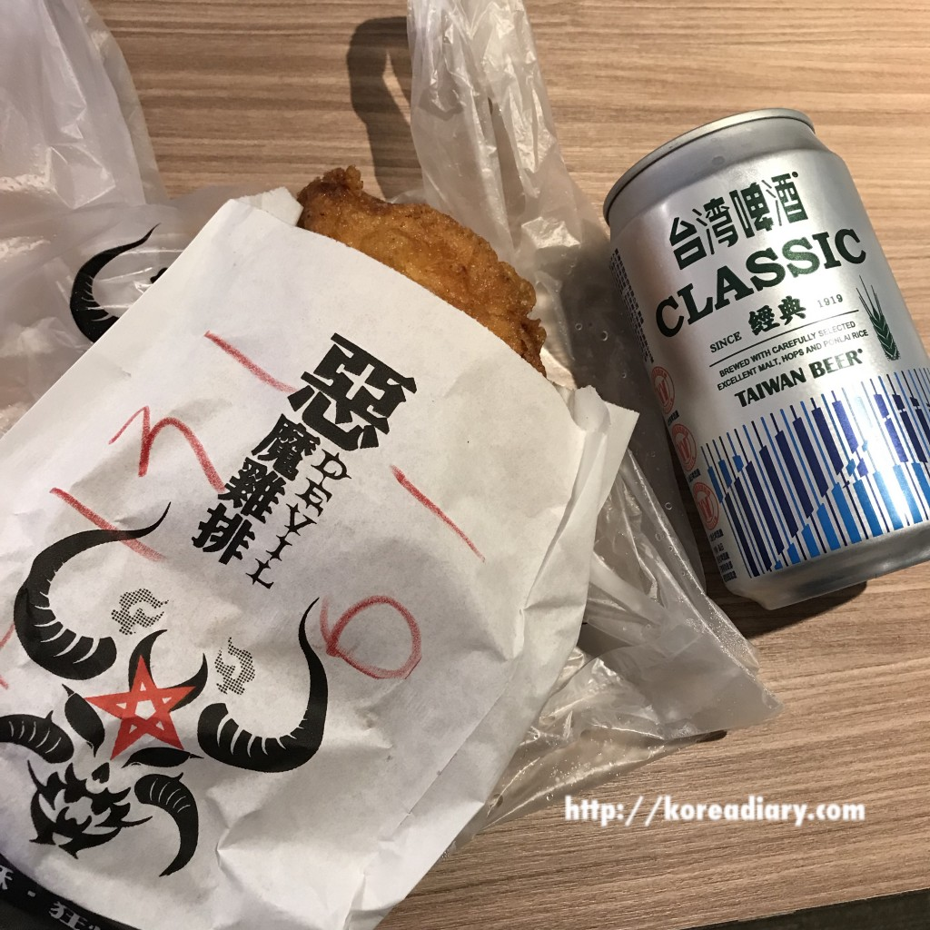 台北旅行2日目 ~肉圓(バーワン)と悪魔チキン~