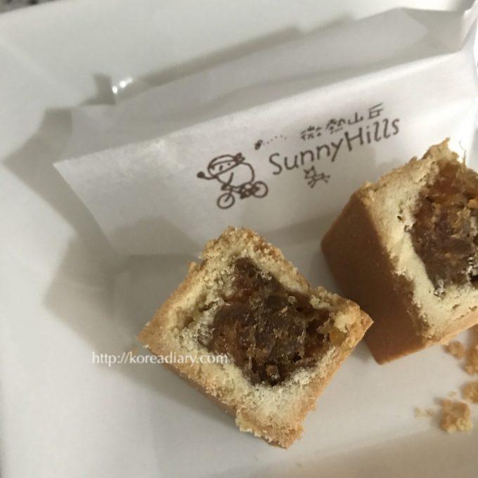 台湾旅行を引きずって、パイナップルケーキをオーダー。