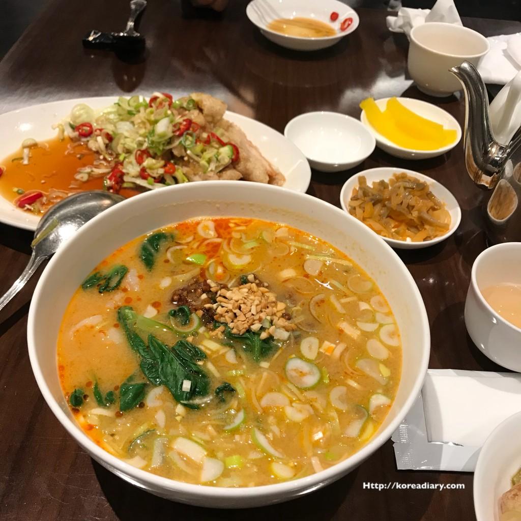 新世界百貨店の中華料理 ホギョンジョン