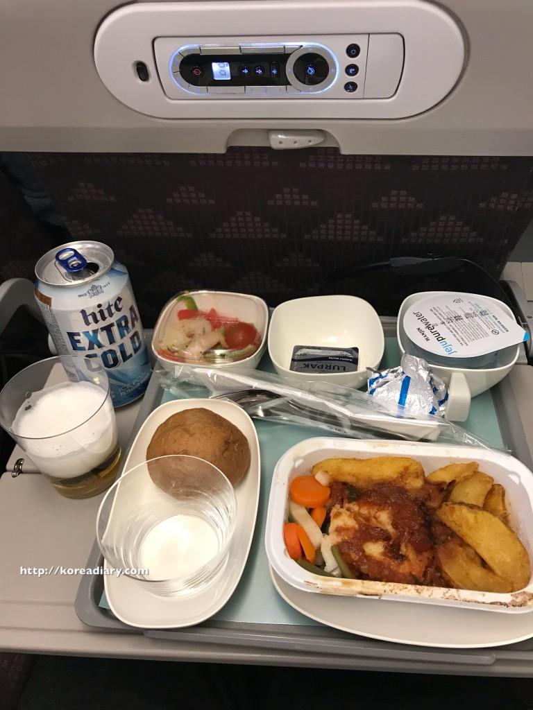 大韓航空で仁川空港からバリ島デンパサール空港へ