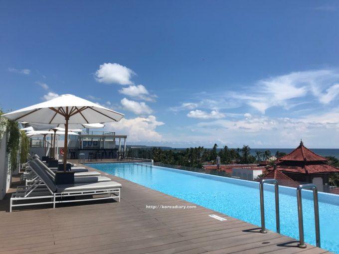 サヌールからホリデイインエクスプレス バルナ バリへ。Holiday Inn Express Baruna Bali