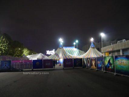ソウルで太陽のサーカス。シルクドソレイユ クーザ♪