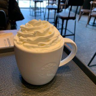 韓国でカフェモカを注文すると・・