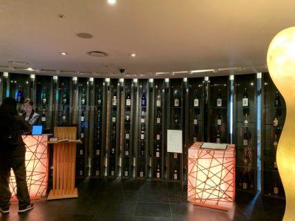 ロッテホテルソウルの38階で記念日ランチ。