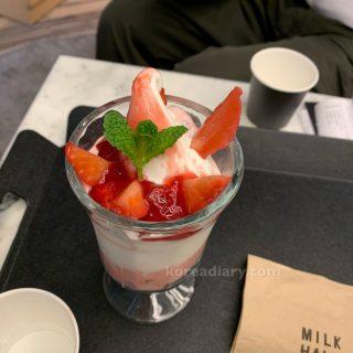 ソウル牛乳のミルクカフェ ミルクホール1937
