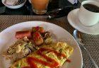 パドマリゾートレギャンの朝食など。