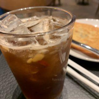 韓国スタバで伝統茶♪ピョルタバンアイスティー。