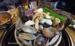 貝蒸し食べて貝でお腹いっぱい:)