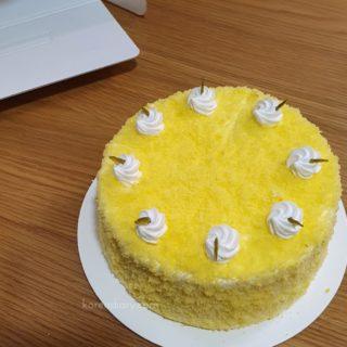 韓国のケーキといえばコグマケーキ。